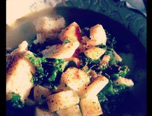 Cod & Kale Soup