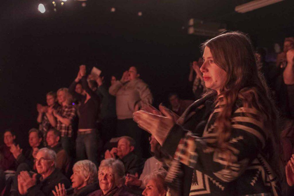 Bravely Bare audience Richmond VA 2016