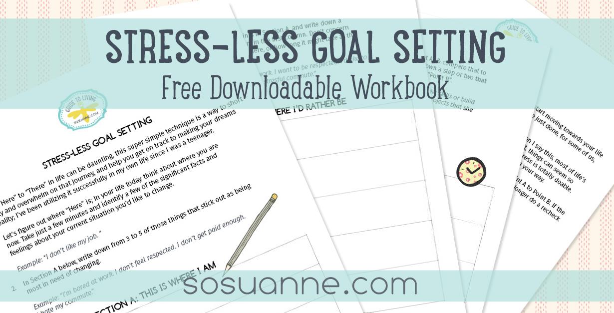 Stress-Less Goal Setting Workbook download