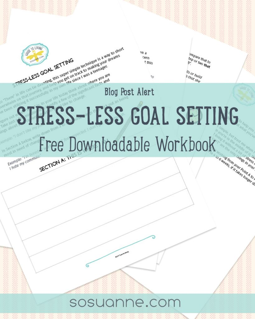 instagram stress less goal setting alert