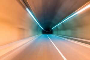 tunnel motion blur