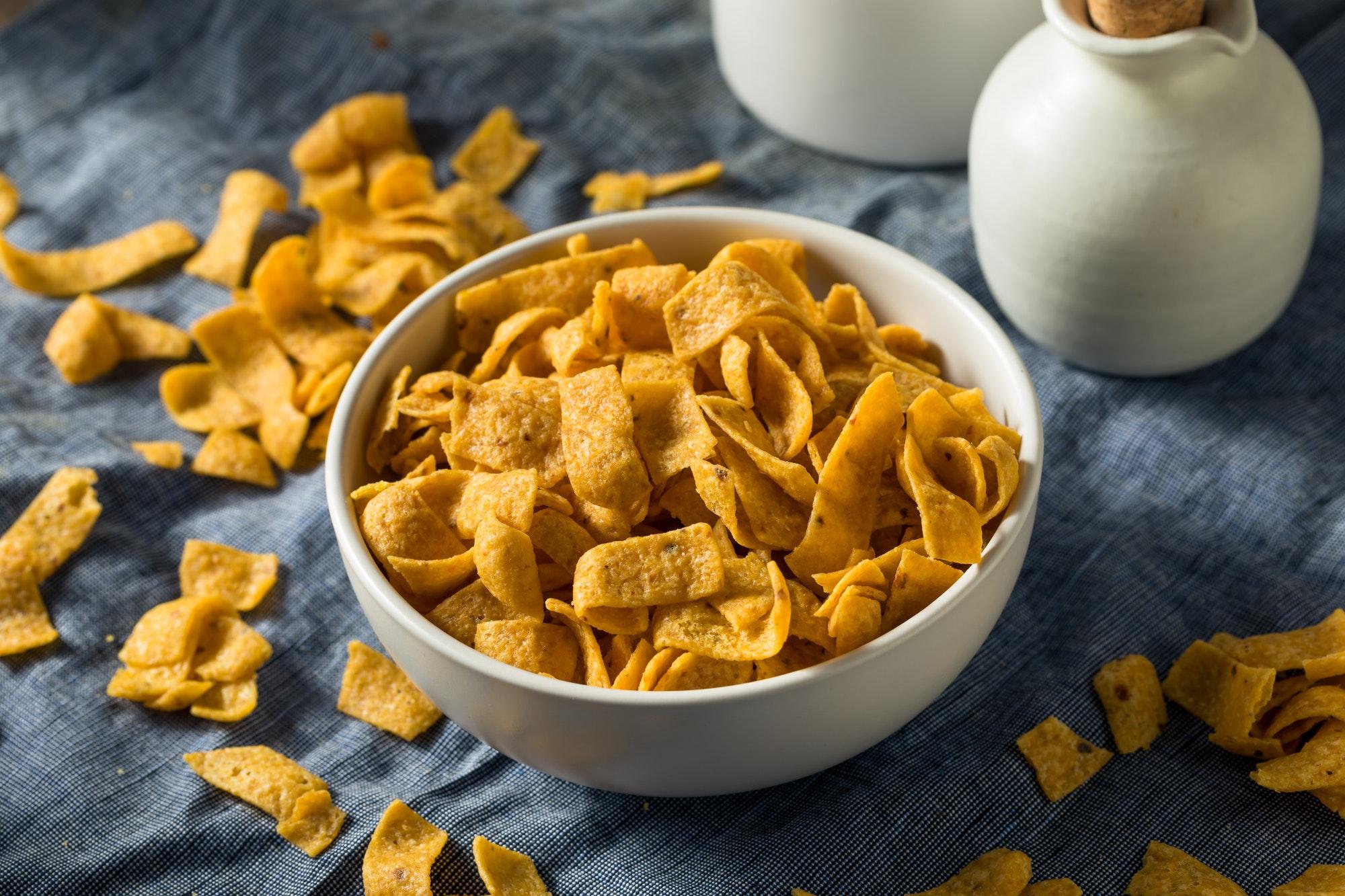 Crunchy Salt Corn Chips