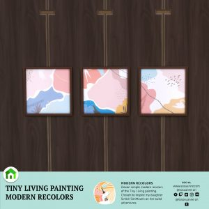 The Sims 4 Tiny Living Painting Recolors