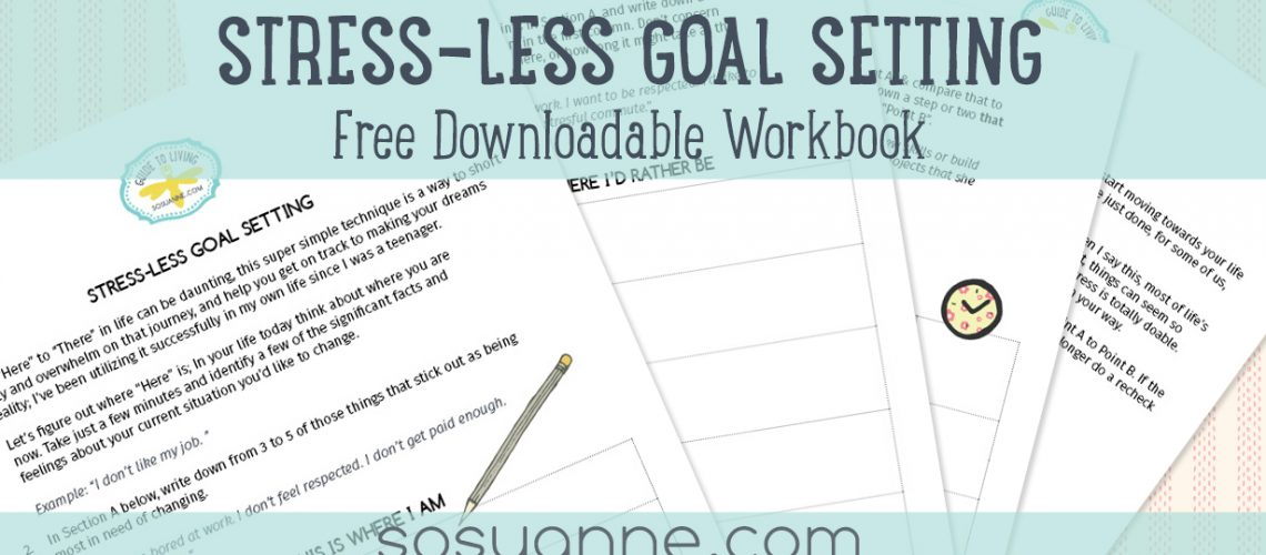 Stress-Less Goal Setting Workbook download
