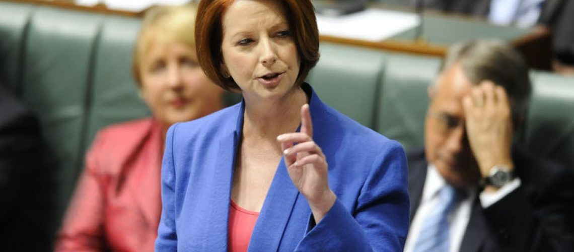 julia gillard no room for sexism